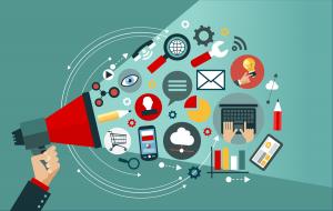 Internet Marketing Email Banner 300x190 - مشکلات اصلی بازاریابی اینترنتی