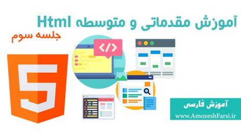 آموزش html 5 جلسه سوم