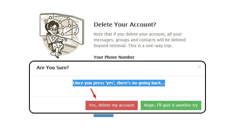 delete telegram 5 - دانلود سورس ربات حذف اکانت تلگرام